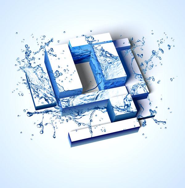 Gentner-Logo-Wasser